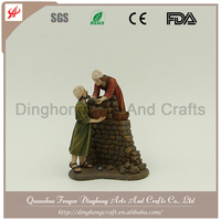 Wholesale Resin Angel and Cross Religious Crafts Native Resin Decor