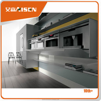Multifunctional storage cabinets for kitchen and living room