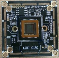 HD AHD Security camera chipset with OSD menu 960P AHD and CMOS-1000TVL can be switched by OSD