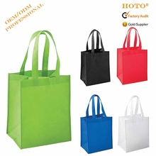 China Manufacturer Promotional Customized Non-Woven Tote Bag Foldable Shopping Bag