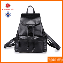 2015 New Style Leisure Genuine Leather Backpack Travel Bag
