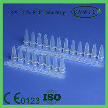 PCR Tubes with 8 pcs