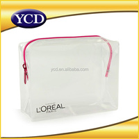 Professional High Quality Customized PVC Zipper Purse Bag