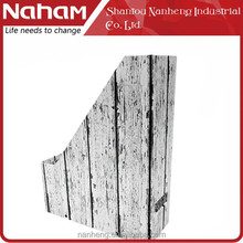 NAHAM Creative Custom Folding Fence Shape Wood File Holder