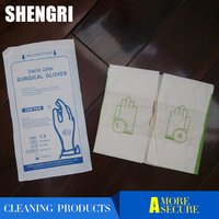 disposable sterile latex powered and powered free surgical gloves
