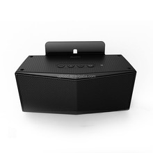 SoundMagic boom Portable Bluetooth Speaker with a Built-In Microphone and 2 Speakers