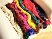 S10600A 2015 best quality cheap kids aran weight color matching scarf
