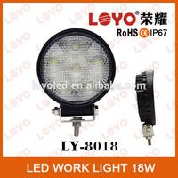 12V/24V 18W Led Working Lamp Spot Flood Beam Fog Light External Light For Boat 4WD Truck SUV ATV Offroad