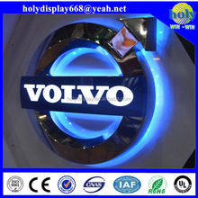 Custom Backlit LED car logo, car brand logo custom made, auto logo from experienced logo maker