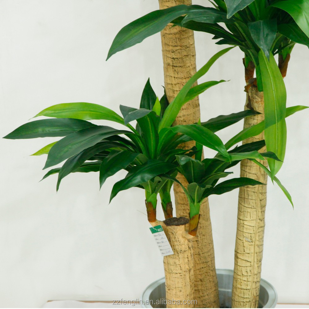 venta caliente baratos artificial dracaena planta falsa