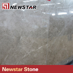 Newstar polished type imported grey stone marble for floor tile