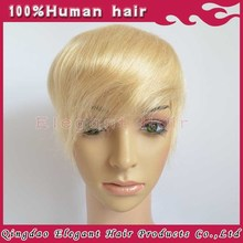 High Quality Blond Human Hair Toupee Blonde Thin Skin For Women Wholesale