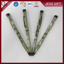 New design hot transfer printing army promotinoal pen