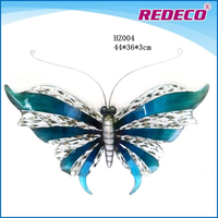 Small metal flying butterfly for decoration