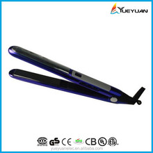 Wholesale Infrared Plate floating function Ceramic/titanium finish 3 in 1 no heat curling iron online hair straightener