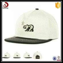 china wholesale embroidery design 100% cotton 3d custom snapback hat
