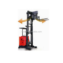 Especially applied in narrow aisle, 3-direction electric stacker forklift, 1T 3 - way electric reach stacker