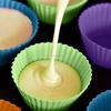 Innovative Non-stick easy demold Silicone cupcake baking cups