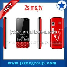 Q6 2sim loud speaker MSN bluetooth cheap tv cellphone
