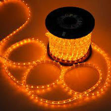 40M 2W LED ROPE YELlow RED light