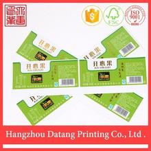 porcellana a buon mercato trasparente personalizzato per alimenti in pvc etichetta adesiva nome adesivo