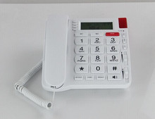 basic blue pstn anti radiation remote caller id phone