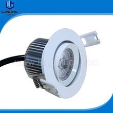 Australia SAA listed 4000K 6W samsung AC COB 230V LED downlight, down light 230V