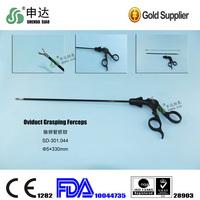 FDA endoscopic high temperature sterilized Oviduct Grasping Forceps