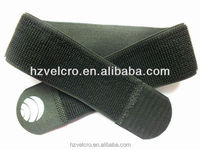 Nylon rubber hook and loop elastic bands