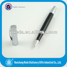 2014 Quality Silver Roller Present Pen With Client Logo Name For Promotional