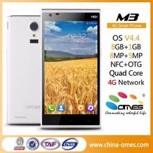 Dual Sim Cards M3+ 5inch MT6735 64bit CPU OEM 4G LTE smartphone quad core 2gb ram