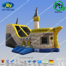 Exciting Amusement park games inflatable kids outdoor pirate ship