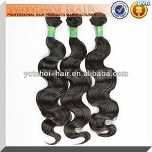 2015 Wholesale Cheap Price Body Wave Unprocessed Brazilian Human Hair