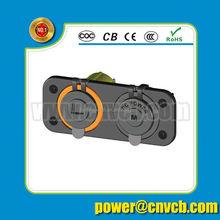 New Dual Car auto cigarette lighter USB port power plug socket outlet 2.1A 1A panel mount Jack motorcycle
