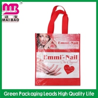 professional design service laminated nonwoven shopping bag manufacturer
