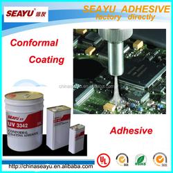 UV 3341- UV fluorescence conformal coating adhesive with lower VOC