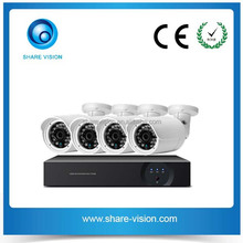 multi star 4ch 720p/960p optional cctv dome bullet camera nvr system