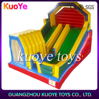 china top sales crazy fun inflatable slide way,nice inflatable slides for children