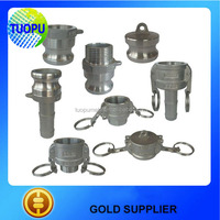 China supplier SS/aluminum/brass/nylon quick coupling pipe joints