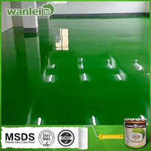 High light, high hardness, washable epoxy industrial floor paint