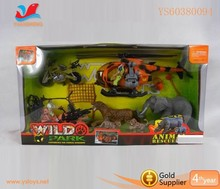 Pre-school children toy Zoo animal rescue play set