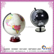 plastic deskpot globe