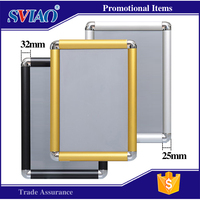 A4 outdoor waterproof aluminum snap frames extrusion