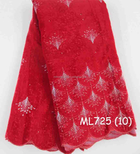 Mikemaycall whloesale velvet suit fabric for party and weeding with decorative design ML725-10