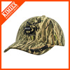 customized raised embroidery logo cotton camouflage cap and hat
