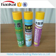 Waterproof Transparent Structure Neutral Pu Foam Sealant,750ml Pu Foam