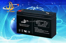 6v 10ah lead acid battery high capacity rechargeable 6v 10ah solar battery