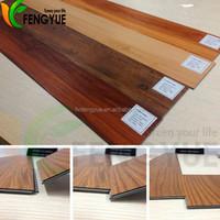 5mm Thick 0.5mm Wear Layer Removable Plastic PVC Interlocking Floor Tiles
