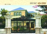 decorative aluminum gates/best quality aluminum gate