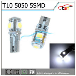High quality 12v canbus T10 5050 smd auto led light
